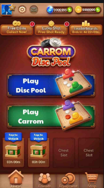 Carrom Pool Mod Apk Unlimited Gems And Coins
